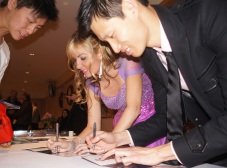 CD signing at our CD release concert